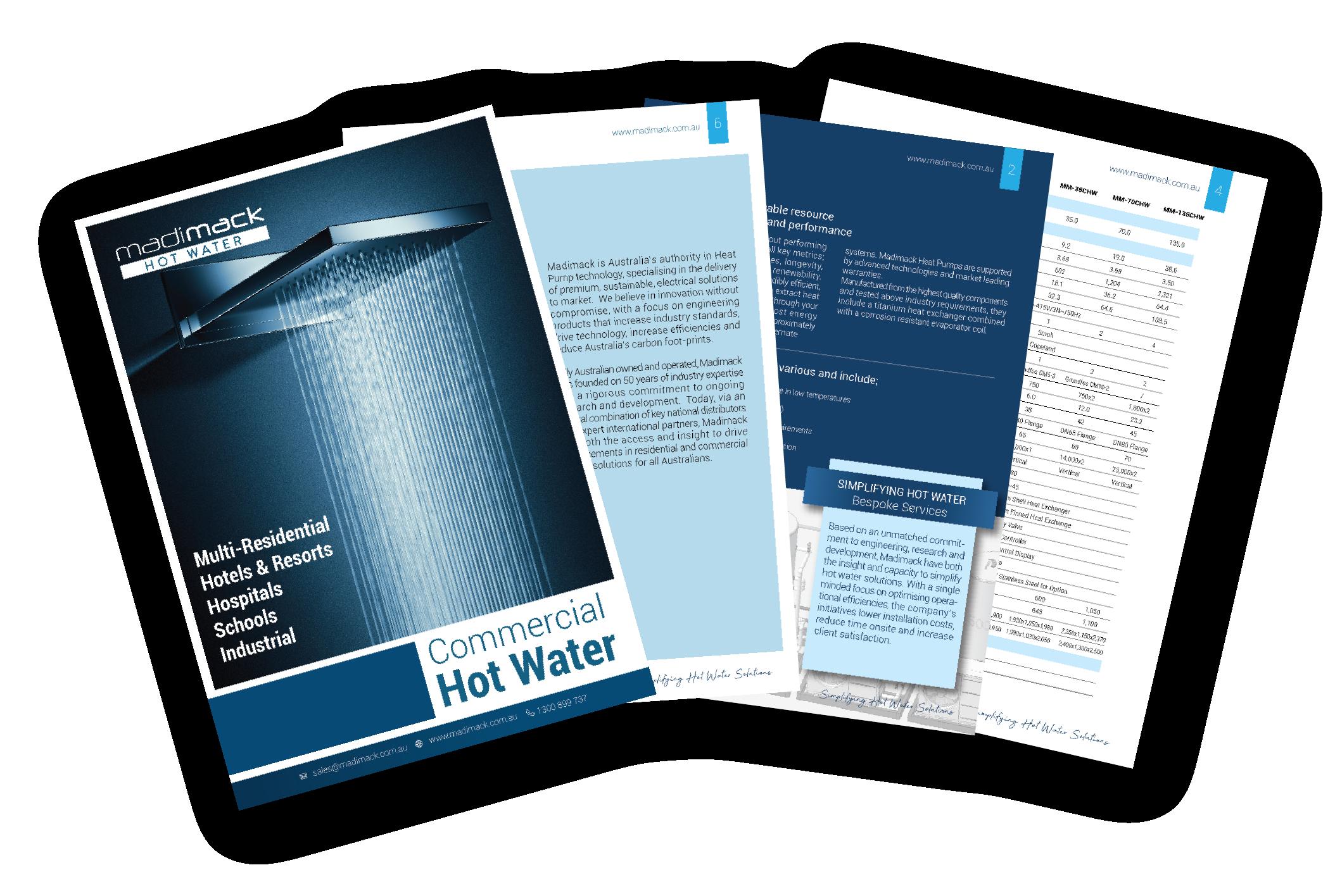 Madimack_Commercial Hot Water Brochure Fan