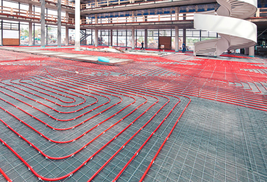 Hydronic Heating_underfloor heating_underfloor cooling_heat pumps_geothermal heat pumps_commercial geothermal_geothermal heating and cooling