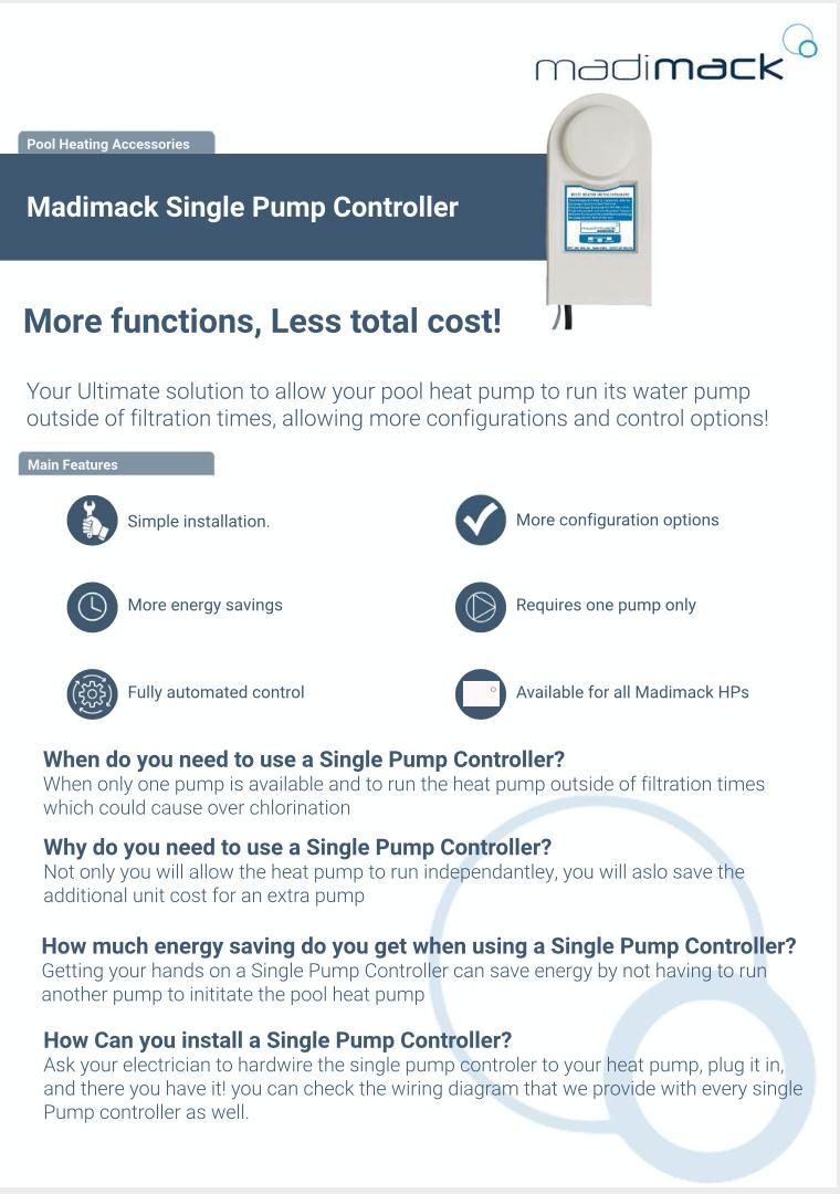 Single Pump Controller Benefits