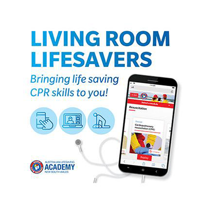 Living Room Lifesavers Complimentary CPR Course